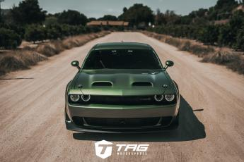F8 Green Challenger SRT Hellcat Widebody