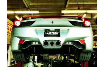 FERRARI 458 EXHAUST