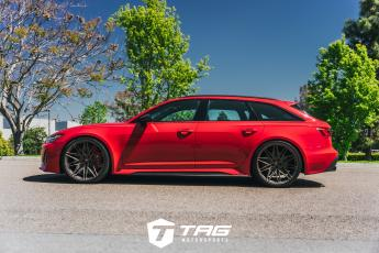 TAG RS6 on Vossens with Akrapovic Exhaust