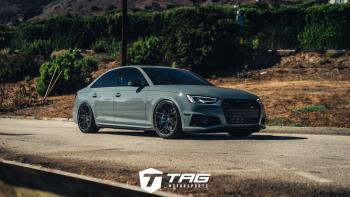 The TAG B9 S4 on Vossen EVO-5Rs