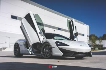 570S on HRE P101SC with AWE Exhaust