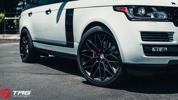 17 Range Rover on HRE S200 H Wheels