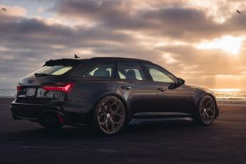 TAG C8 RS6 Avant: The HRE Shoot