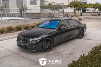 S580 with TAG Blackout on Vossen HF-5