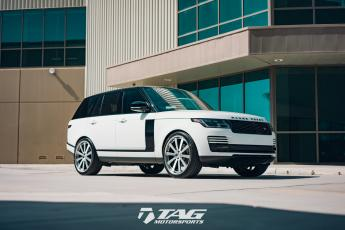 TAG Range Rover on HRE Wheels