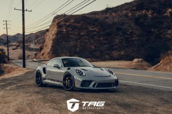 TAG 991.2 GT3 RS on Forgeline GE-1 Wheels