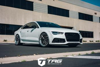 TAG Audi RS7 with Vorsteiner Wheels