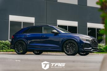 The TAG RS Q8 on Vossen HF-7 Wheels
