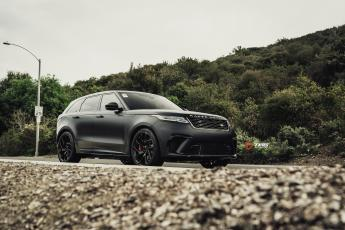 Velar SVA with TAG Powdercoated Wheels