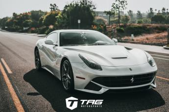 F12 on Novitec Springs with Capristo Exhaust