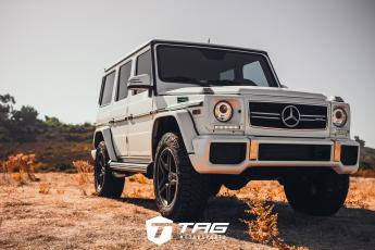 G63 AMG with Lift and Offroad Tires