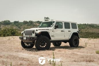 White Wrangler with Fuel Wheels and TAG Package
