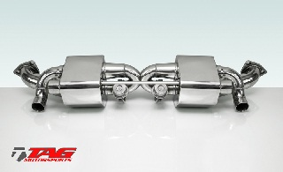 TECHART sports exhaust systems for the Porsche 911