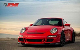 Lady in Red - ADV 10.1 wheels on a 997.1 Porsche GT3
