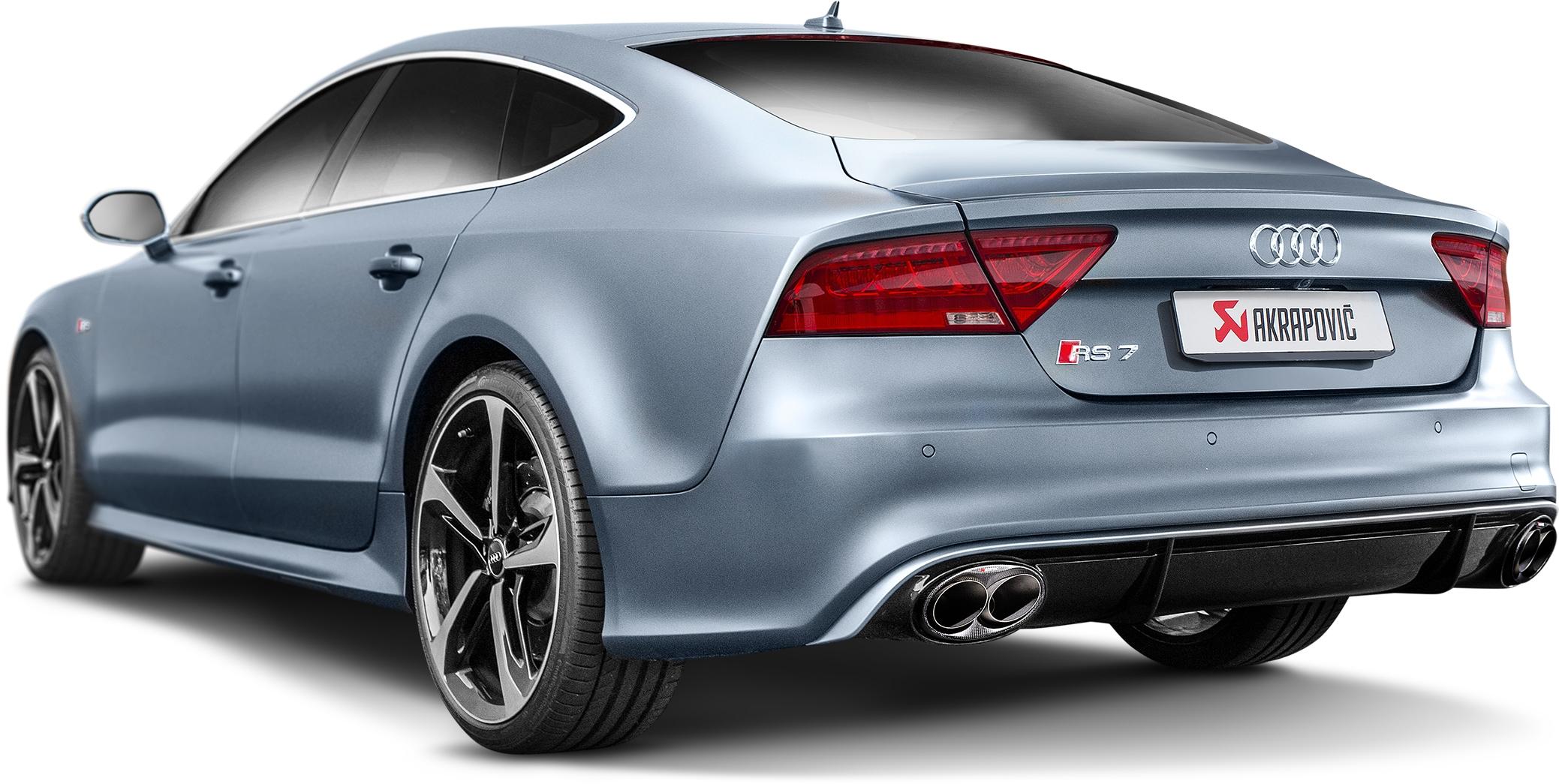 Audi RS7 Akrapovic Exhaust IN STOCK NOW!