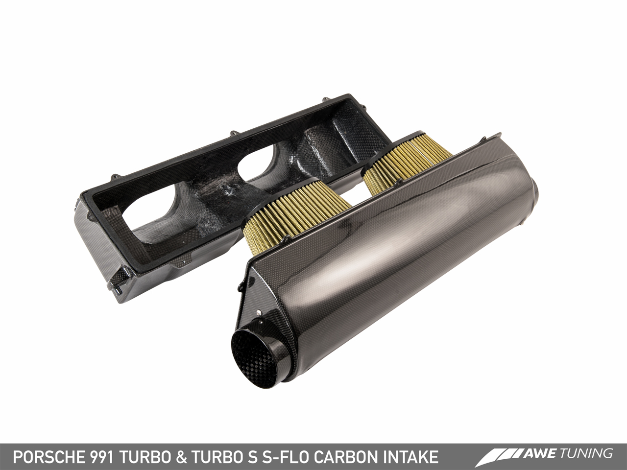 Available Now: The AWE Tuning Porsche 991 Turbo and Turbo S S-FLO Carbon Intake