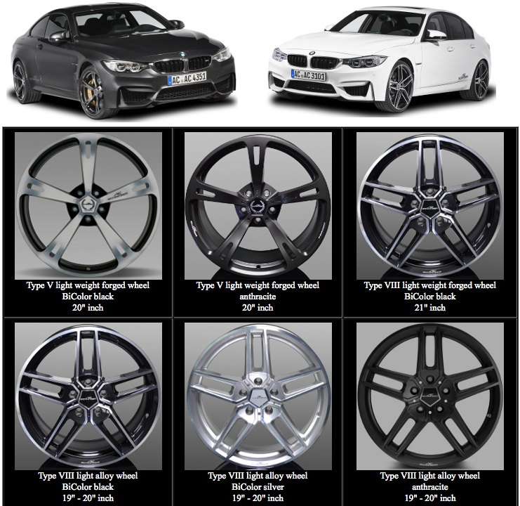 AC Schnitzer Wheels for the F80 M3 & F82 M4