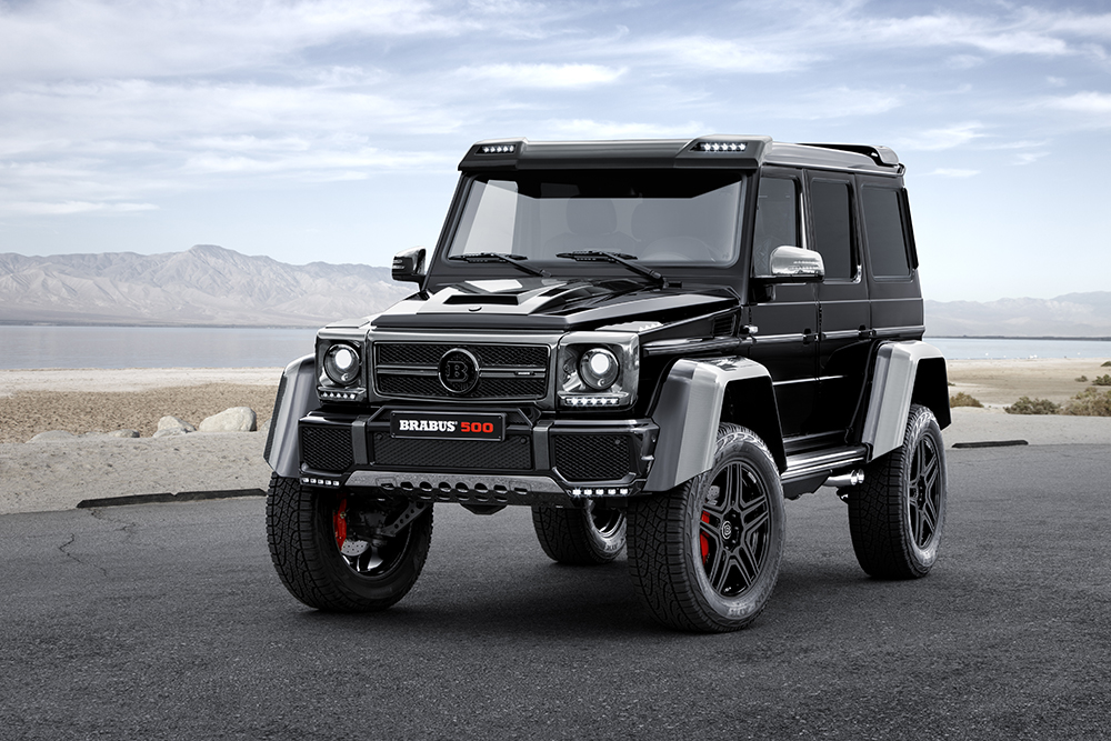 Brabus G550 4x4² is Coming Soon!