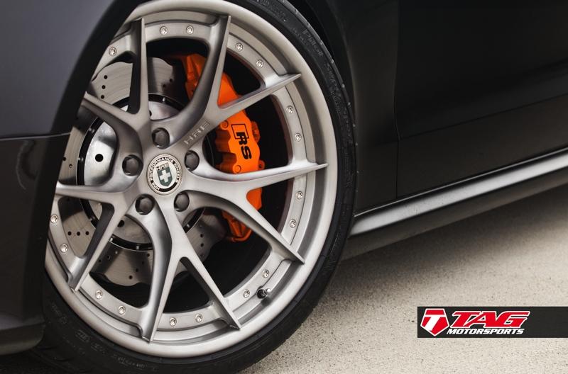 "Audi RS5 on 20"" HRE S101 and Lambo Orange Calipers"