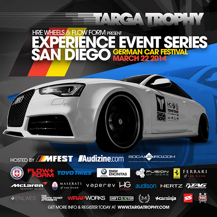 Targa Trophy / San Diego Experience Event March 22