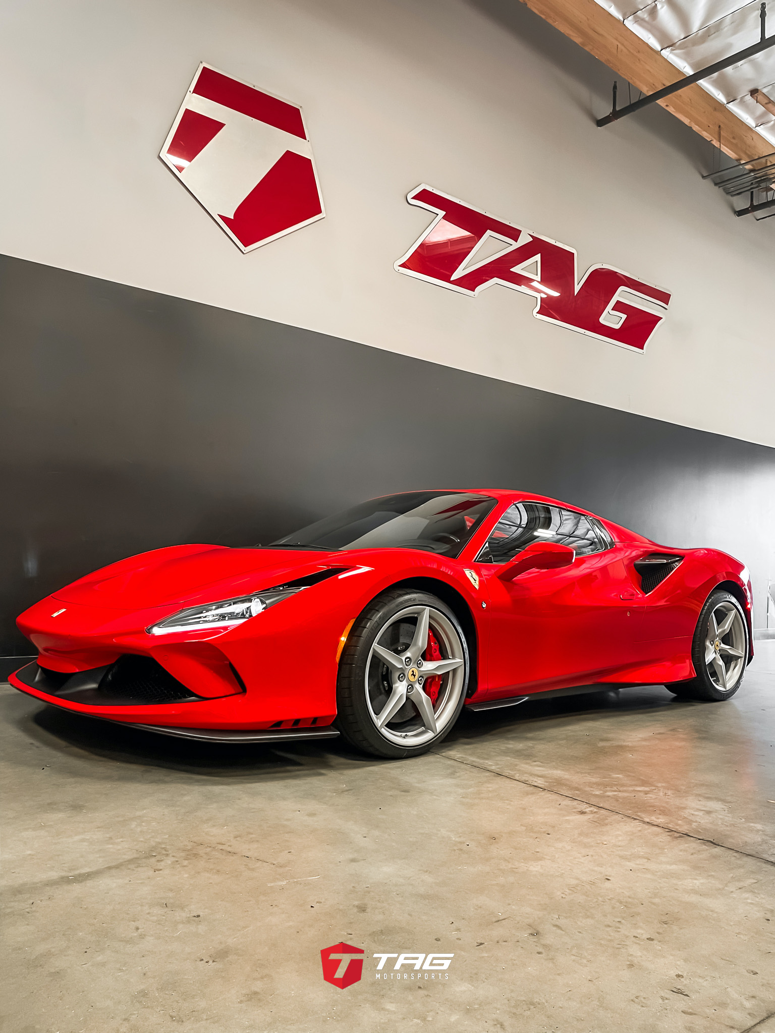 TAG MOTORSPORTS NEW F8 SPIDER PROJECT IS HERE!