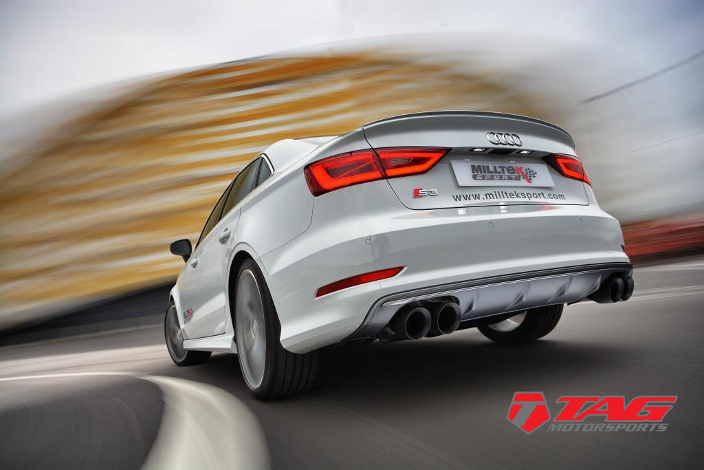 Milltek Exhaust for the Audi S3 AVAILABLE NOW!