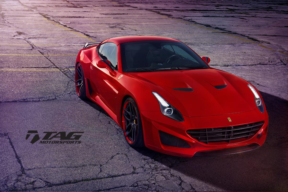 Novitec Rosso N-Largo for the Ferrari California T