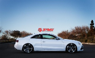 Hint of RS - 2013 Audi S5 on OEM RS5 wheels