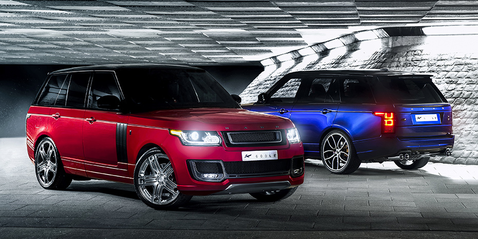 Introducing the new KAHN Range Rover 600-LE