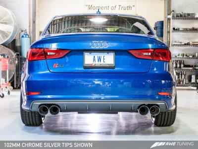 AWE Tuning S3 Exhaust is HERE!