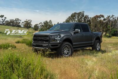 2017 Ford Raptor on HRE P161 Wheels!
