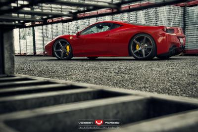 Vossen Precision Forged: VPS-303 on a Ferrari 458