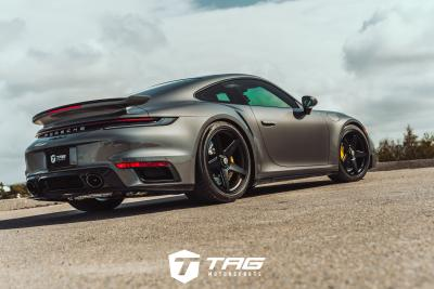 992 TURBO S on VOSSEN GNS-1 WHEELS, TECHART SPRINGS & MORE!