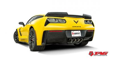 Akrapovic | Chevrolet Corvette C7 & C7 Z06 - Now Available