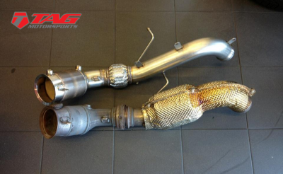 AWE Tuning McLaren MP4-12C Exhaust and Downpipe