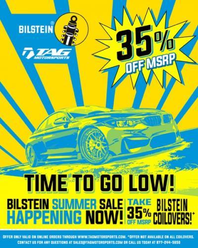 Bilstein Summer SALE!