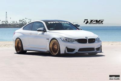 Enlaes M4 on Rotiform Wheels!