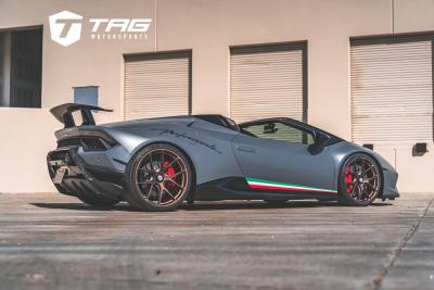 A DROP TOP PERFORMANTE WITH HRE FLAIR