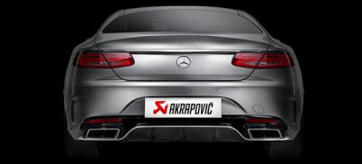 Akrapovic | Mercedes-Benz S63 AMG Coupe