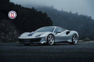 OMG! TAG'S 488 PISTA ON HRE VINTAGE 527S FMR WHEELS! EPIC SHOOT!