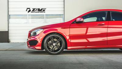 14' Mercedes CLA // TAG Blackout Package