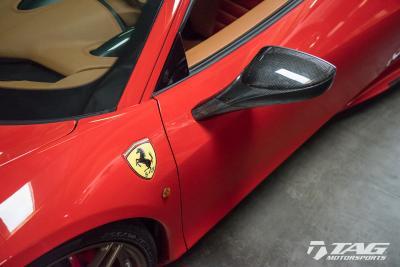 Capristo Ferrari 458 / 488 Mirrors INSTALLED!