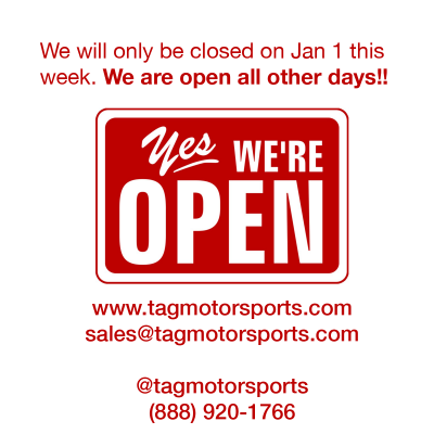 We're OPEN this week!