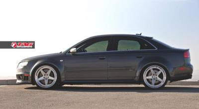 Audi RS4 on ADV5TF Wheels