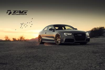 "2014 RS5 on 21"" Vossen VPS306 Wheels"