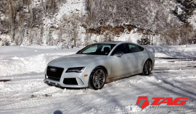 RS7 in the Snow!