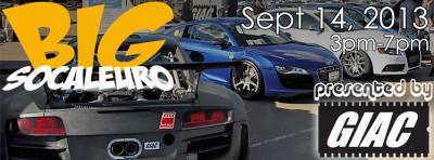 Socal Euro // September 14th!