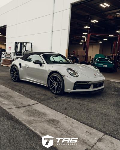 TAG Motorsports new project 992 Turbo S Cab. Techart incoming!