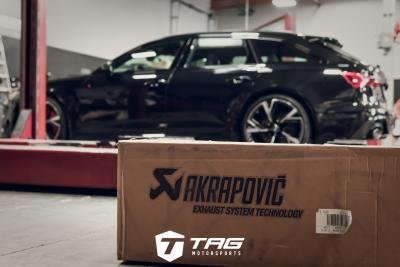 PROJECT RS6 ONE AKRAPOVIC EXHAUST VIDEO AND INSTALL PHOTOS- MUST LISTEN!