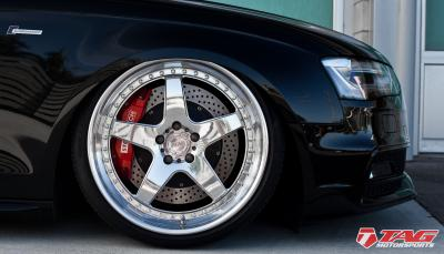 S4 Lows // TAG Audi S4 and ADV.1 Wheels